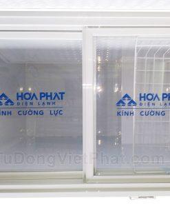 Bên trong tủ đông Hòa Phát 162 lít HCF 336S1N1