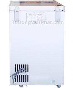 Mặt sau tủ đông Hòa Phát 100l HCF 106S1N