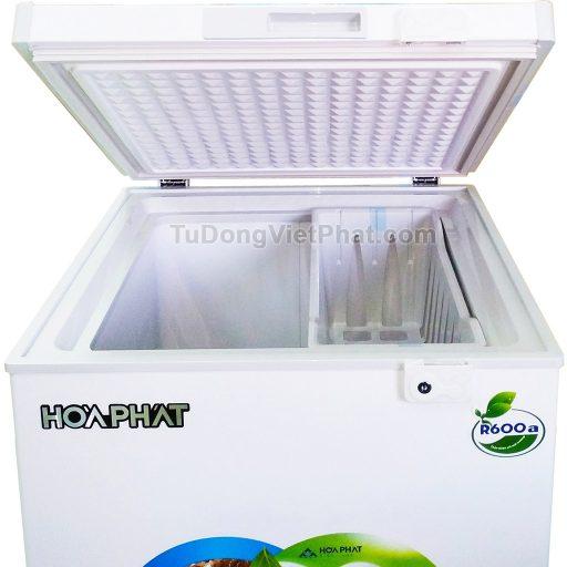 Mặt trên tủ đông Hòa Phát 100l HCF 106S1N 1 ngăn đông