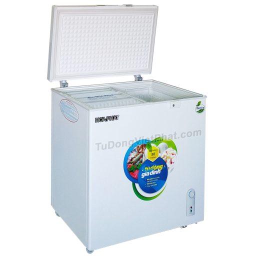 Tủ đông Hòa Phát 162 lít HCF 336S1N1, 1 ngăn 1 chế độ đông