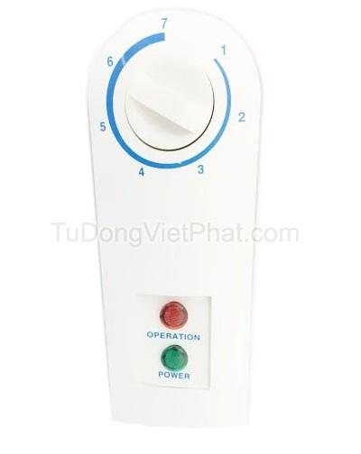 Bảng điều khiển tủ đông Hòa Phát 162 lít HCF336S1N1, 1 ngăn 1 chế độ đông