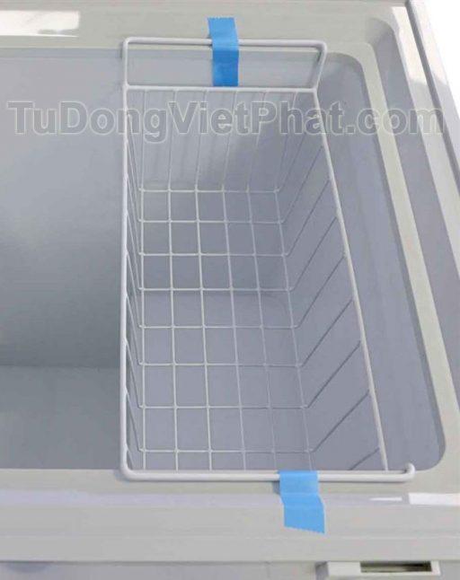 Giỏ treo tủ đông Hòa Phát 162 lít HCF336S1N1, 1 ngăn 1 chế độ đông