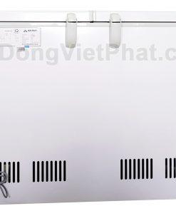 Mặt sau tủ đông Hòa Phát 300l, HCF 656S2Đ2