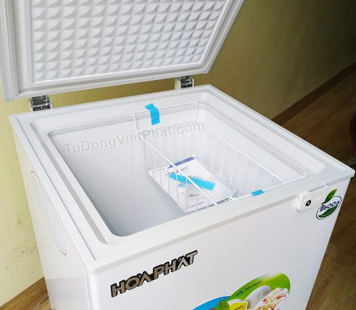 Mặt trên tủ đông Hòa Phát 100l HCF 106S1N