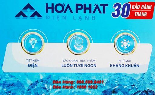 Tủ đông Hòa Phát 100l HCF 106S1N bảo hành 30 tháng