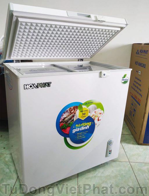 Tủ đông Hòa Phát 162 lít HCF336S1N1, 1 ngăn 1 chế độ đông