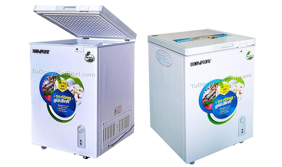 Tủ đông min loại nằm 100 lít Hòa Phát 106S1N