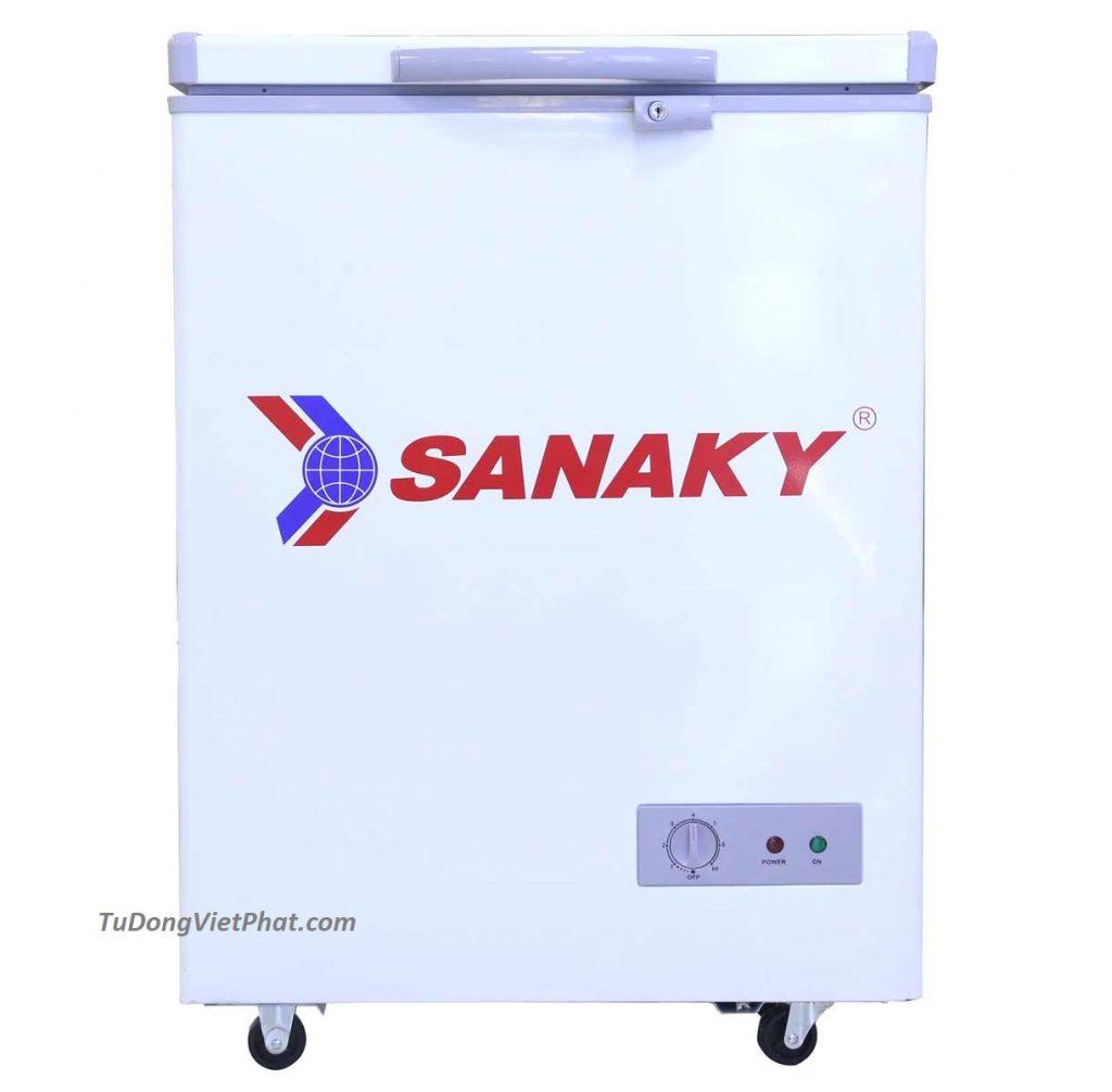Tủ đông mini 100L Sanaky VH-150HY2 1 ngăn đông