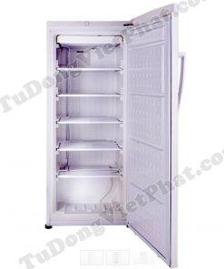 Bên trong tủ đông đứng Hòa Phát Funiki HCF-280S