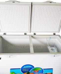 Bên trong tủ đông Hòa Phát 400l HCF 666S1N2, 1 ngăn đông