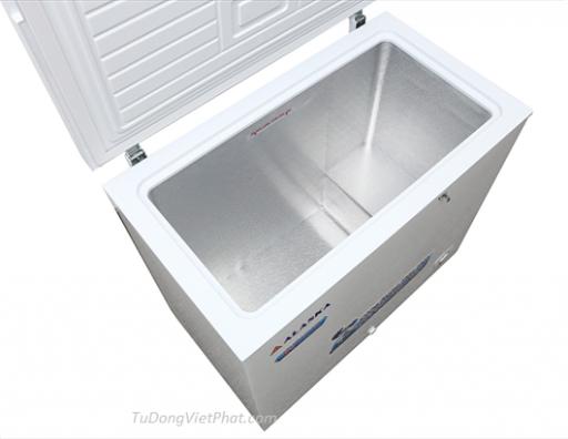 Bên trong tủ đông mini 200L Alaska BD-200 1 ngăn đông