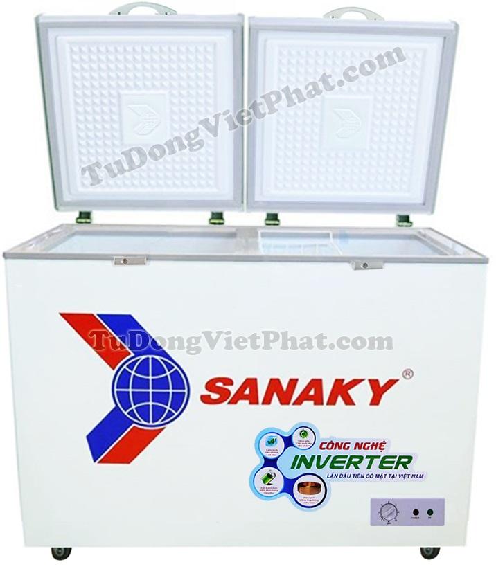 Mặt trước tủ đông Sanaky INVERTER VH-3699A3
