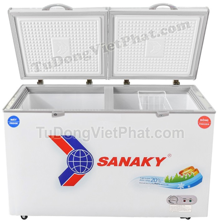 Mặt trước tủ đông Sanaky VH-3699W1