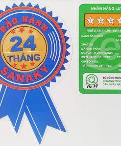 Tem bảo hành tủ đông Sanaky VH-4099W3 INVERTER