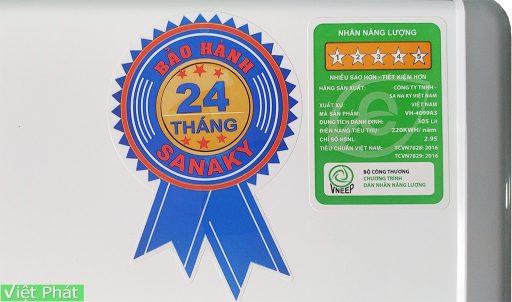 Tem năng lượng tủ đông Sanaky VH-4099A3