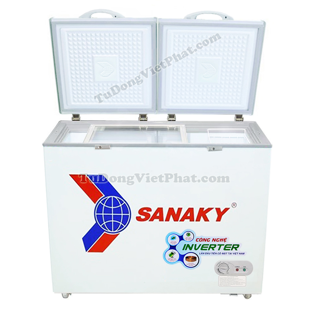 Mặt trước tủ đông Sanaky INVERTER VH-2899A3