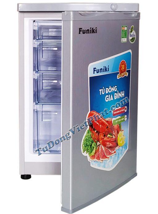 Tủ đông đứng Hòa Phát Funiki HCF 116P 100 lít 4 ngăn