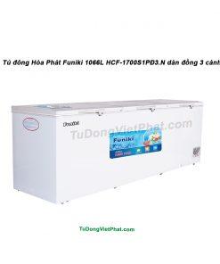 Tủ đông Hòa Phát Funiki 1066L HCF-1700S1PĐ3.N dàn đồng 3 cánh