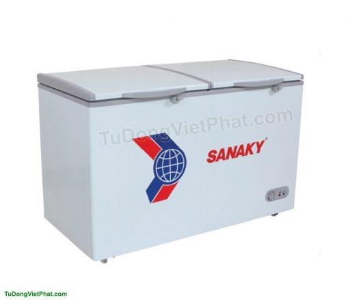 Tủ đông mini 165L Sanaky VH-225W2, 2 ngăn đông - mát
