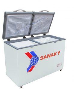 Tủ đông mini 175L Sanaky VH-225A2, 1 ngăn đông 2 cánh