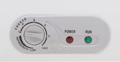 Bảng điều khiển tủ đông mini 100L Sanaky VH-150HY2 1 ngăn đông