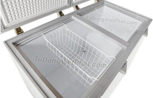 Bên trong tủ đông Sanaky INVERTER VH-4099A3