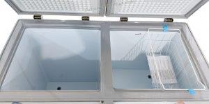 Bên trong tủ đông Sanaky INVERTER VH-2899W3