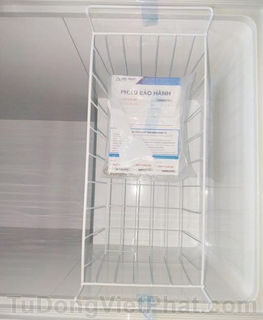 Giỏ treo của tủ đông Hòa Phát 252L HCF 516S1Đ1, 1 ngăn đông dàn đồng