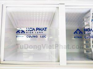 Tủ đông Hòa Phát 205L HCF 506S2Đ2, 2 ngăn đông mát dàn đồng