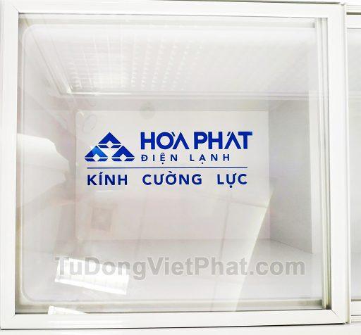 Kính cường lực tủ đông Hòa Phát 252L HCF 516S1Đ1, 1 ngăn đông dàn đồng