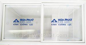 Kính cường lực tủ đông Hòa Phát 252L HCF 516S1N1