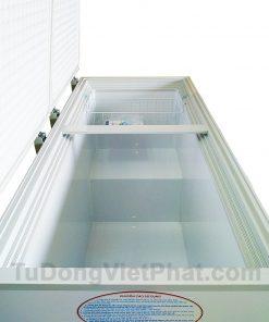 Mặt nghiêng tủ đông Hòa Phát 400l HCF 666S1N2, 1 ngăn đông