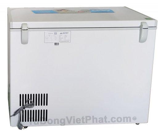 Mặt sau tủ đông Hòa Phát 252L HCF 516S1N1