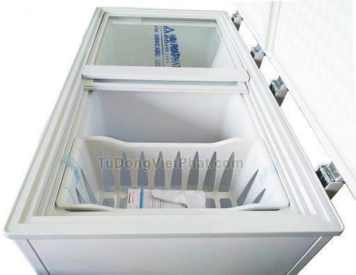 Mặt trên tủ đông Hòa Phát 205L HCF 506S2Đ2