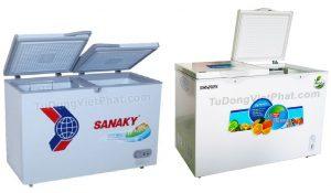 Mua tủ đông loại nào tốt, nên chọn hãng Hòa Phát, Sanaky hay Alaska?