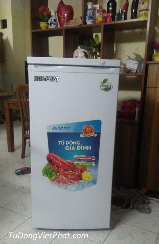 Tủ đông đứng Hòa Phát HCF 166S 152 lít 6 ngăn bán tại Xuân Diệu