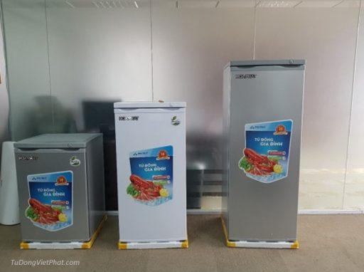 Tủ đông đứng Hòa Phát HCF 220P 216 lít 8 ngăn và các model khác