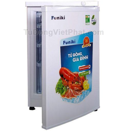 Tủ đông đứng Hòa Phát Funiki HCF 116S 100 lít 4 ngăn (open1)