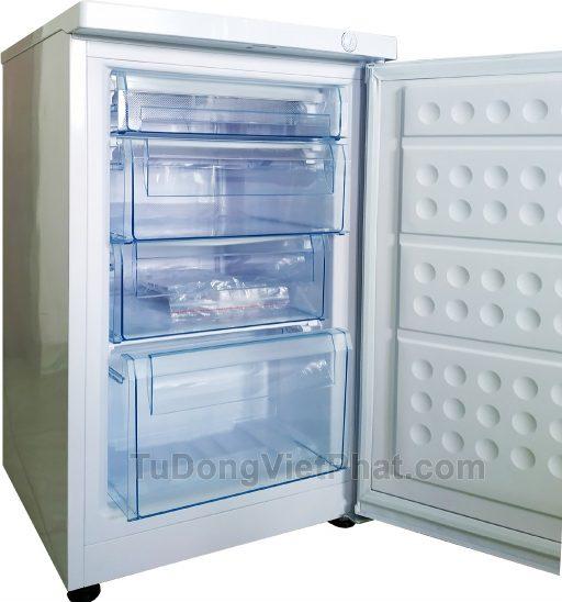Tủ đông đứng Hòa Phát Funiki HCF 116S 100 lít 4 ngăn (open3)