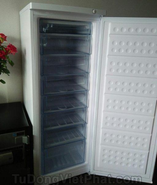 Tủ đông đứng Hòa Phát HCF 220S 216 lít 8 ngăn