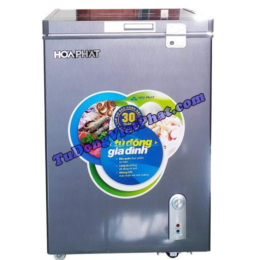 Tủ đông mini Hòa Phát HCF 106S1ĐSH 100L dàn đồng