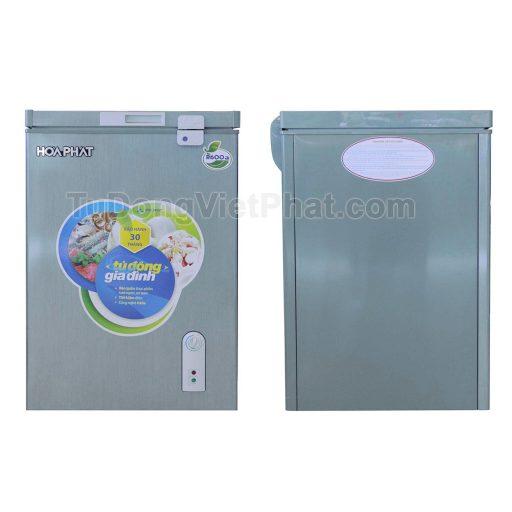 Tủ đông Hòa Phát 100l màu xanh HCF 106S1ĐSH dàn đồng