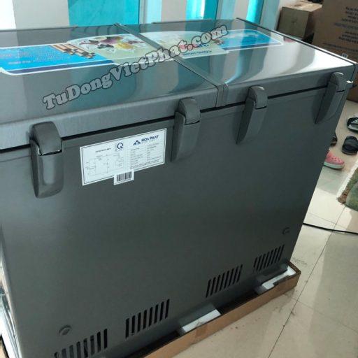 Tủ đông Hòa Phát 205L, HCF506S2Đ2SH, tủ mini 2 ngăn dàn đồng