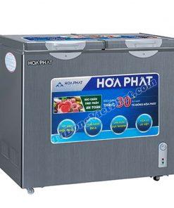 Tủ đông Hòa Phát HCF506S2Đ2SH, tủ mini 2 ngăn 205L dàn đồng