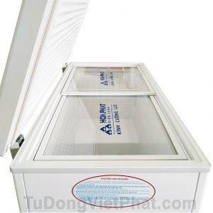 Mặt ngiêng tủ đông Hòa Phát 252L HCF 516S1N1