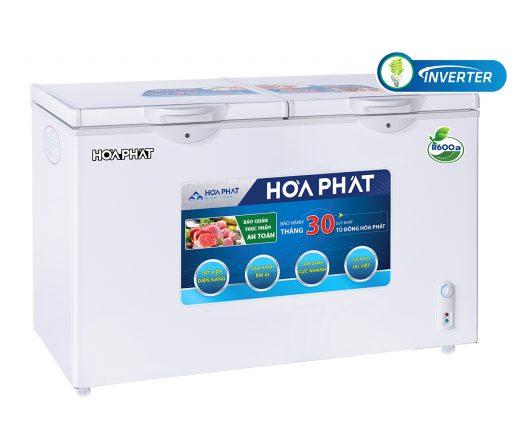 Tủ đông Hòa Phát 300l Inverter HCFI 656S2Đ2, 2 ngăn đông mát