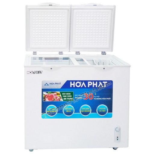 Tủ đông Hòa Phát 205L HCF 506S2Đ2, tủ mini 2 ngăn dàn đồng