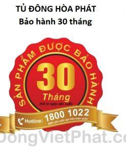 Tủ đông Hòa Phát HCF-505S2PĐ2 205L 2 ngăn dàn đồng, bảo hành 30 tháng