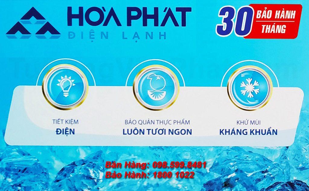 Tủ đông mini trữ sữa mẹ 107L Hòa Phát bảo hành 30 tháng