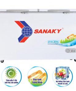 Tủ đông Sanaky VH-3699A1, 270L 1 ngăn đông dàn đồng